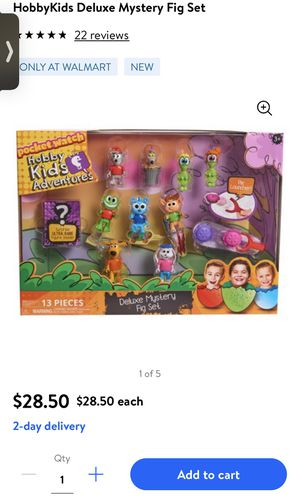Hobby kids adventures 13 piece set for Sale in Downey, CA