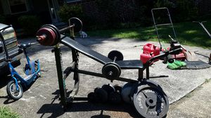 Power xl 860 weight Bench for Sale in Stone Mountain, GA