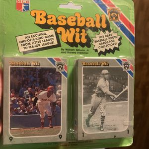 Baseball wit Collectors card game for Sale in Grants Pass, OR