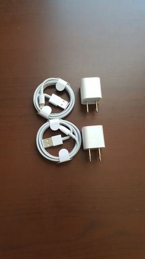 2 original apple chargers for Sale in Queens, NY