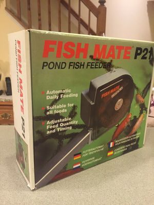 Fish Mate P21, Pond Fish Feeder for Sale in Millersville, MD