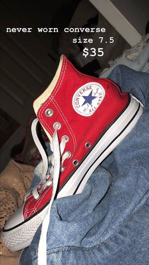 Red Converse High Top for Sale in Annandale, VA