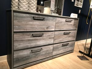 Ashley Furniture Gray Dresser for Sale in Garden Grove, CA