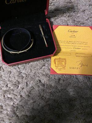 Cartier Love bracelet Gold for Sale in Laurel, MD