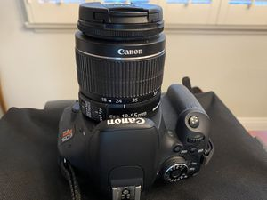 Canon EOS Rebel T3i Camera for Sale in Spring Valley, CA