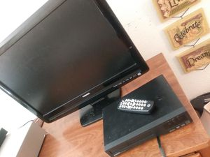 Toshiba TV and Sanyo DVD player come with remote for Sale in Salt Lake City, UT