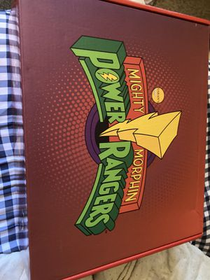 MMPR Mighty Morphin Power Rangers Collector's Box for Sale in Fort Washington, MD