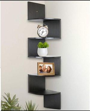 5 Tier Wall Mount Corner Shelves Bedroom Living Room Shelving for Sale in Wilkes-Barre, PA
