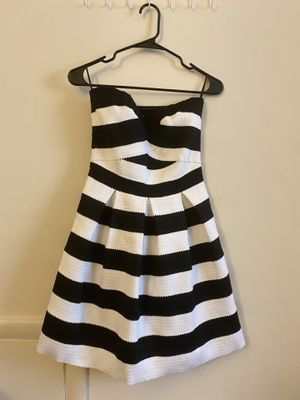 Stripes black and white mini dress for Sale in Alexandria, VA