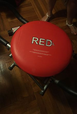 Red XL Fitness chair for Sale in Bronx, NY
