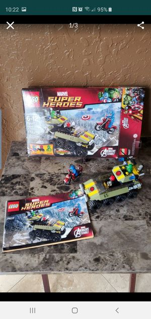 Lego Super Heroes - Avengers Assemble - 76017 - Captain America vs Hydra for Sale in Homestead, FL