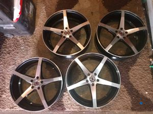 20 in chevy 5 lug for Sale in Oroville, CA