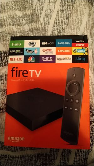 Amazon 2nd gen 4k fire tv box for Sale in Indian Land, SC