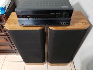 Onkyo receiver & Pioneer 3-Way Speaker System for Sale in Phoenix, AZ