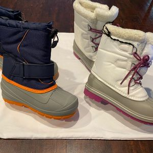 NEW Snow Boots Kids Size 3 for Sale in Hacienda Heights, CA