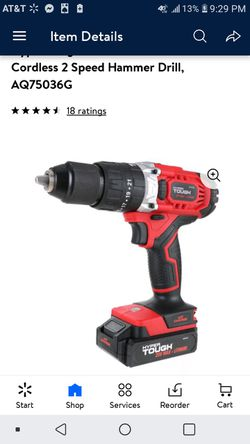 20 volt Hyper Tough Hammer Drill for Sale in St. Louis,  MO