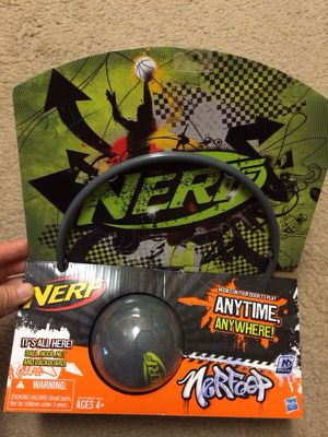 Nerfoop Basketball Hoop Kids Toy Game for Sale in Dublin, OH