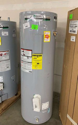 50 gallon AO Smith water heater with warranty 45E for Sale in Los Angeles, CA