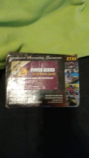 Power series agm sports battery for Sale in Manteca, CA
