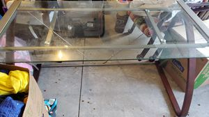 Glass top desk for Sale in Fort Wayne, IN