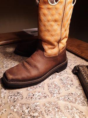 Justin work boots. for Sale in El Dorado, KS