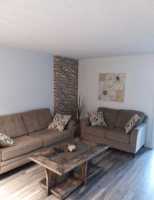 Comfortable Sofa and Loveseat with 4 pillows for Sale in North Miami, FL