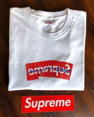 Supreme/CDG Box Logo Tee for Sale in Long Beach, CA
