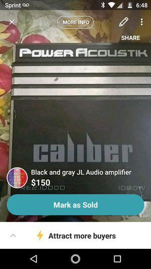 Amplifier for stereo for Sale in Clovis, CA