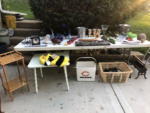 Antiques Clothes Furniture & Knicknacks Sale Fri & Sat 18th & 19 th for Sale in Downers Grove, IL