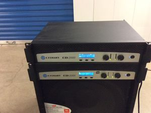 2 Crown CDi 2000 Amplifiers ..... for Sale in Springfield, VA