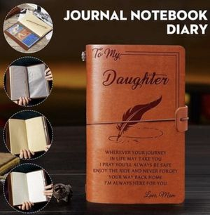 My Daughter Leather Journal From Mom for Sale in Clermont, FL