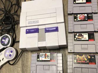 Super Nintendo SNES System + Games for Sale in Redmond,  WA