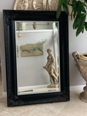 """66""""x46"""" Beautiful design mirror with ornate frame and sturdy wooden frame . Beveled edgy give the mirror a unique look. for Sale in Laguna Niguel, CA"""
