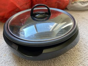 Aroma hotpot & grill plate& slow cooker & food steamer for Sale in Baltimore, MD