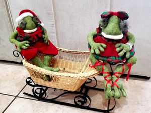 Mr and Mrs santa frogs for Sale in Las Vegas, NV