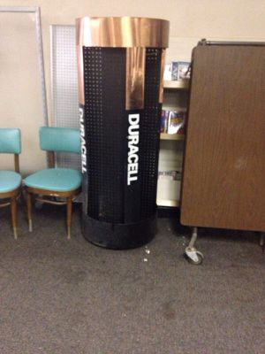 Duracell Battery Display for Sale in Caledonia, MI