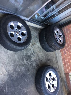 18 inch jeep tires and rims for Sale in Oxon Hill, MD