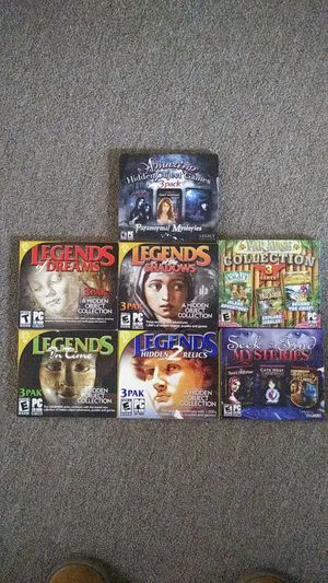 (7) 3 pack pc games for Sale in State Road, NC