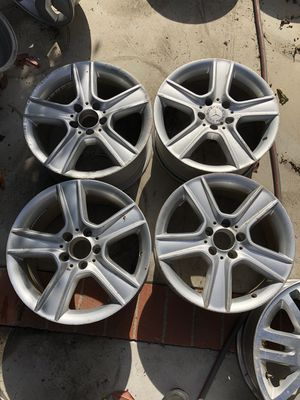 17 Inch Mercedes Benz Staggered Wheels for Sale in Ontario, CA