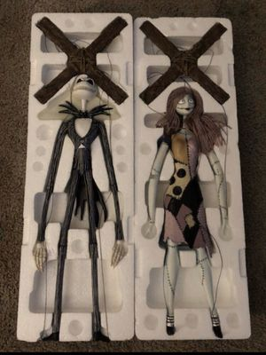 Rare nightmare before Christmas marionettes for Sale in Portland, OR