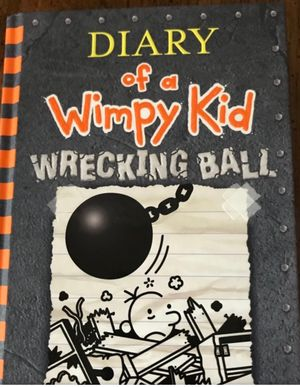 """""""Diary of a wimpy kid – wrecking ball"""" chpt book for Sale in Marietta, GA"""