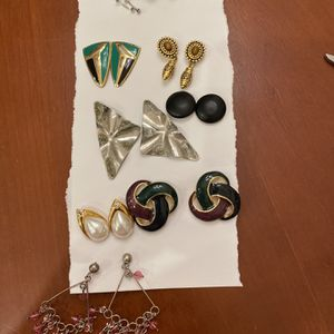 9 Pairs Of Earrings for Sale in Gilbert, AZ