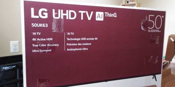 LG 50 inch brand new TV for Sale