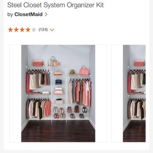 Closet Organizer System for Sale in Woodbridge Township, NJ