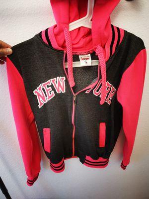 Pink New York Yankee Hoodie Jacket for Sale in Long Beach, CA
