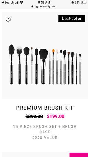 Makeup Sigma Brush Kit for Sale in Buda, TX