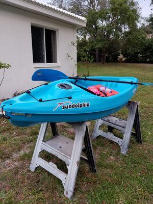 Sun Dolphin 8 ft Kayak. Bali 8 ss for Sale in Hernando Beach, FL
