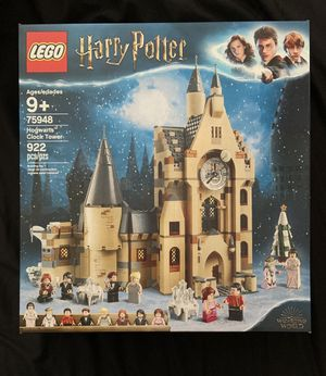 LEGO Harry Potter and the Goblet of Fire Hogwarts Clock Tower for Sale in Carlsbad, CA