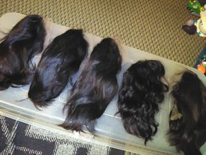 REAL HUMAN HAIR LACE FRONT WIGS for Sale in Vancouver, WA