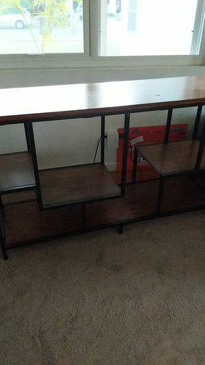 Wood and metal console table for Sale in Oceanside, CA
